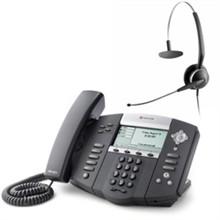 Polycom Call Center 2200 12550 001 w Jabra Headset Option