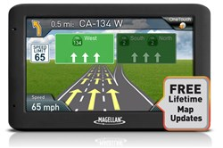 Quick Spell with Smart City Search magellan roadmate 5520 lm RM5520GLUC Lifetime Maps
