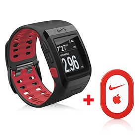 tomtom nike sports gps watch red