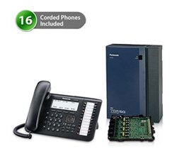 Telephone Systems panasonic kx tda50g dt546 1card