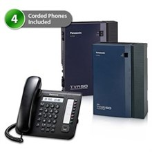 4 Phone Bundles Panasonic kx tda50g dt521 vm