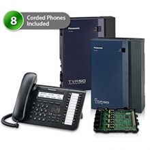 Telephone Systems panasonic kx tda50g dt543 1card vm
