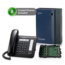 8 Phone Bundles panasonic kx tda50g dt521 8x