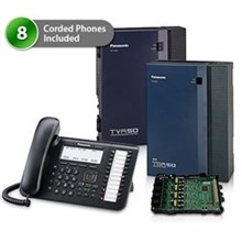 Telephone Systems panasonic kx tda50g dt546 8x 1card vm