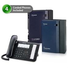 4 Phone Bundles panasonic kx tda50g dt546 4x vm