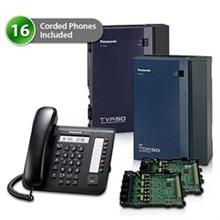 16  Phone Bundles panasonic kx tda50g dt521 vm 2card