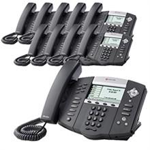 Polycom 6 Line SIP VOIP Phones 2200 12651 001
