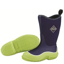 Boys Muck Boots Kids Youth Hale Green/Blue