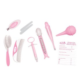 summer infant health and grooming 11 piece kit girl