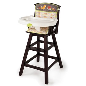 summer infant classic comfort wood high chair fox and friends