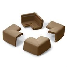 Safety prince lionheart jumbo cornerguards chocolate