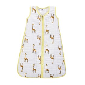 aden anais jungle jam giraffe cozy sleeping bag