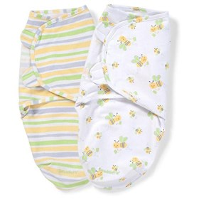 summer infant swaddleme adjustable baby wrap 2 pack sm med