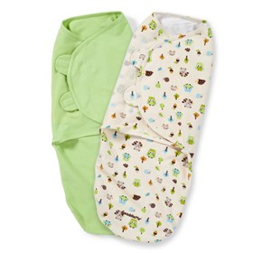 summer infant swaddleme   cotton knit 2 pack lg