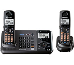 Panasonic 2 Line Cordless Phones panasonic kx tg9382t