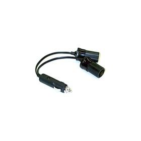 escort double socket lighter plug