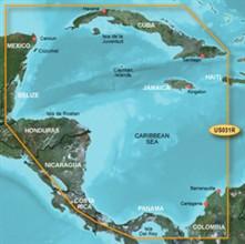 Garmin Caribbean Central America BlueChart Water Maps garmin bluechart g2 hus031r southwest caribbean