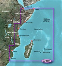 Garmin Africa BlueChart Water Maps garmin bluechart g2 haf001r eastern africa