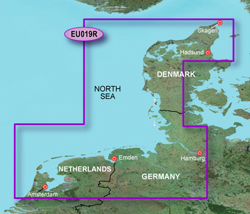 Netherlands Bluechart Maps garmin bluechart g2 heu019r alborg to amsterdam