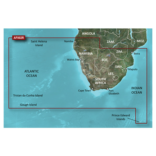 garmin bluechart g2 haf002r south africa