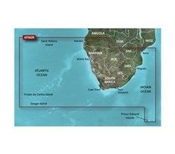 Garmin Africa BlueChart Water Maps garmin bluechart g2 haf002r south africa