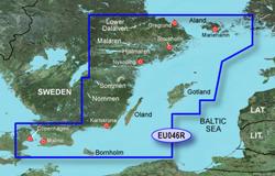 Sweden Bluechart Maps garmin bluechart g2 heu046r oregrund aland to malmo