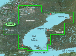 Sweden Bluechart Maps garmin bluechart g2 hxeu047r gulf of bothnia kaliz