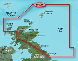 U.K. Bluechart Maps garmin bluechart g2 heu003r great britain northeast c