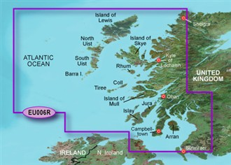 garmin bluechart g2 heu006r scotland west coast