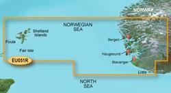 Norway Bluechart Maps garmin bluechart g2 heu051r lista sognefjorden