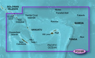 garmin bluechart g2 hpc018r new caledonia to fiji
