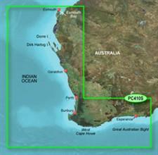 Garmin Australia BlueChart Water Maps garmin bluechart g2 hpc410s esperance to exmouth bay