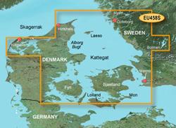 Sweden Bluechart Maps garmin bluechart g2 heu458s goteborg to fyn