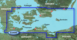 Germany Bluechart Maps garmin bluechart g2 heu459s arhus kiel koszalin
