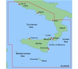 Italy Bluechart Maps garmin bluechart g2 heu460s sicily to lido di ostia