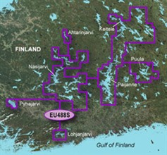 Finland Bluechart Maps garmin bluechart g2 heu488s keitele paijanne tampere