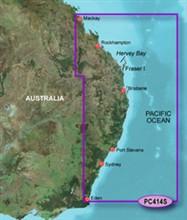 Garmin Australia BlueChart Water Maps garmin bluechart g2 hpc414s mackay to twofold bay