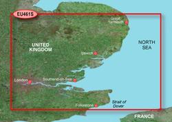 U.K. Bluechart Maps Bluechart G2   HEU461S   Thames Estuary
