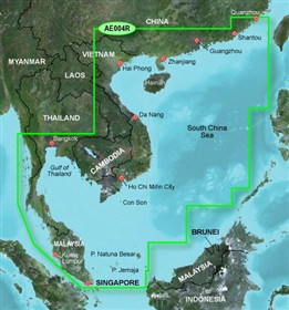 garmin bluechart g2 hae004R hong kong south china sea