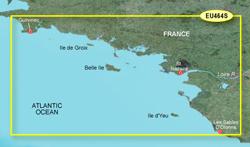 France Bluechart Maps garmin bluechart g2 heu464s penmarch to les sables d'olonne