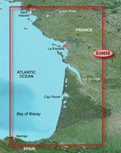 Spain Bluechart Maps garmin bluechart g2 heu465s la baule to san sebastian