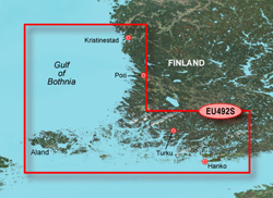 Finland Bluechart Maps garmin bluechart g2 heu492s kristinestad to hanko
