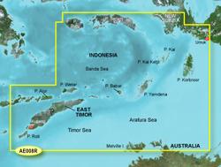 Garmin Asia BlueChart Water Maps garmin bluechart g2 hae008r timor leste