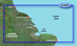 U.K. Bluechart Maps garmin bluechart g2 heu500s blyth to lowestoft