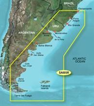 Garmin Central South America Bluechart Watermaps garmin bluechart g2 hsa005r florianopolis to falkland