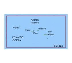 Portugal Bluechart Maps garmin bluechart g2 heu502s azores islands
