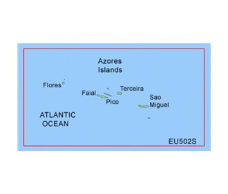 garmin bluechart g2 heu502s azores islands