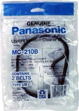 Panasonic Vacuum Replacement Belts panasonic mc 210b
