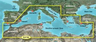garmin bluechart g2 heu718l mediterranean sea