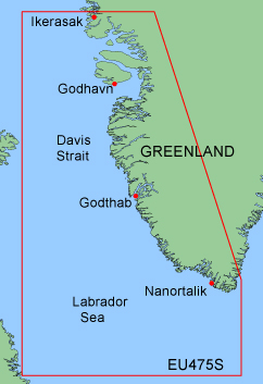 garmin bluechart xeu475s greenland west
